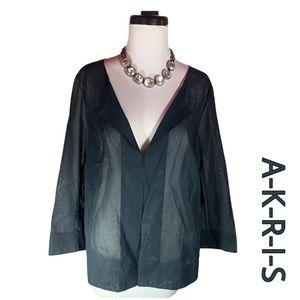 AKRIS Light as Air Sheer Top
